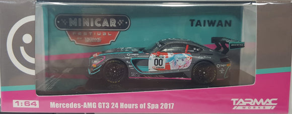 1:64 Tarmac Works Mercedes AMG GT3 24 Hours of Spa 2017 - Taiwan MiniCar Festival -
