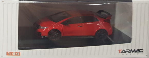 1:64 Tarmac Works Honda Civic Type R FK2 - Red