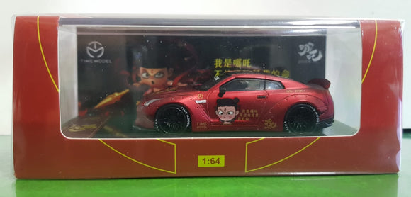 1:64 Time Model LB Performance Nissan GTR R35 Nezha - Ducktail