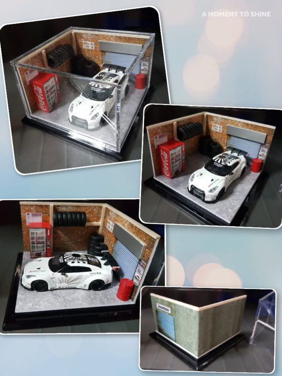 1:64 Model DX Diorama with casing