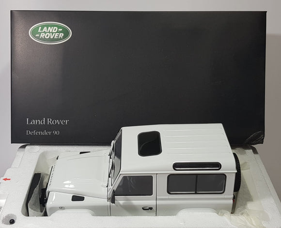 1:18 Kyosho Land Rover Defender 90 - Fuji White