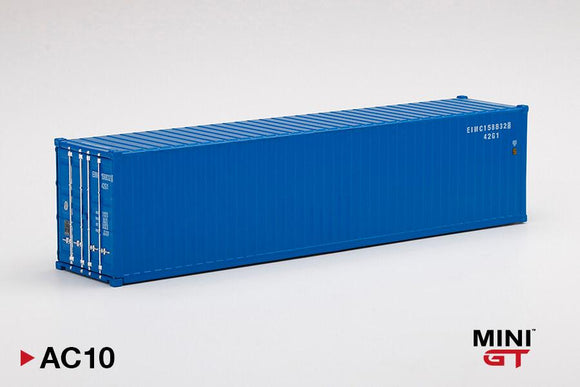 ☆Preorder☆ 1:64 Mini GT Dry Container 40Ft Blue - MGT #AC10