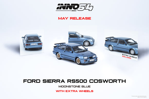 ☆Preorder☆ 1:64 Inno64 Ford Sierra RS500 Cosworth 1986 Moonstone Blue