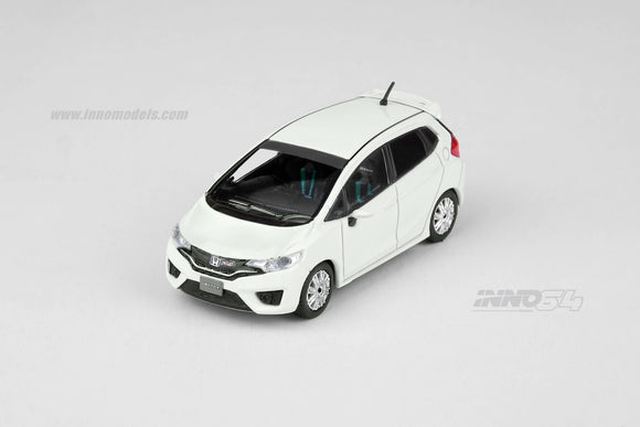 1:64 inno64 Honda Fit 3 RS white with Extra Decals and extra Rims