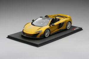 1:18 Top Speed Mclaren 675LT Spider - Solis