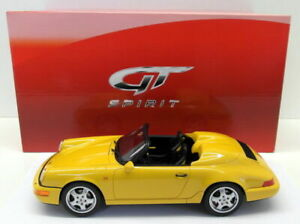 1:18 GT Spirit Porsche 911 (964) Speedster - Yellow