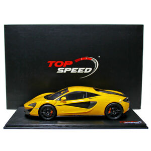 1:18 Top Speed Mclaren 570s - Volcano Yellow