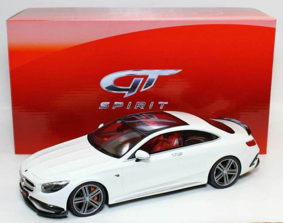 1:18 GT Spirit Mercedes Benz S65 Coupe Brabus 900 - White