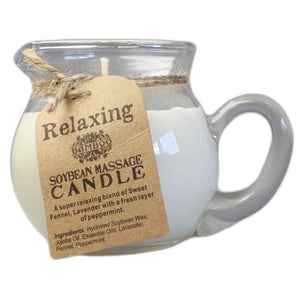 Soybean Relaxing Massage Candle