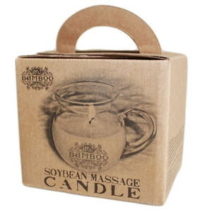 Massage candle box