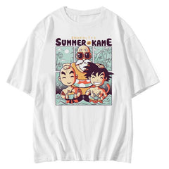 Hawaiian Summer DBZ Sukajan T-Shirt