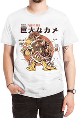 King Koopa Anatomy Sukajan T-Shirt