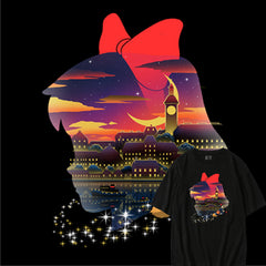 Kiki's Delivery Service Canvas Sukajan T-Shirt