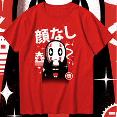 Kawaii No-Face Sukajan T-Shirt