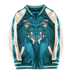 Summer Phoenix Sukajan Satin Jacket