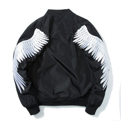 Winged Angel Embroidered Sukajan Bomber Jacket