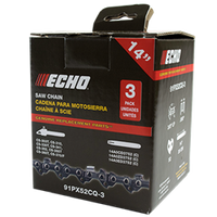 "Echo 3/8"" Low Profile Bar Accessories 91PX Chain"
