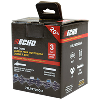 "Echo 3/8"" Bar and Chain Accessories 72LPX Chain"