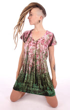 Load image into Gallery viewer, T- Shirt Dress Forest Print#6