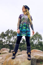 Load image into Gallery viewer, T- Shirt Dress Forest Print#5