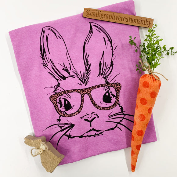 Bonnie The Bunny Tee - Orchid