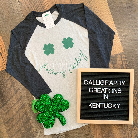 Feeling Lucky Raglan {CCIK Exclusive!}