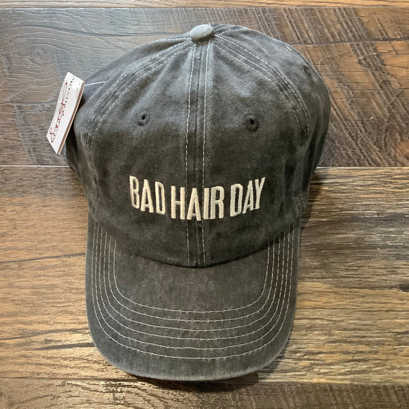 """Bad Hair Day"" Ball Cap"