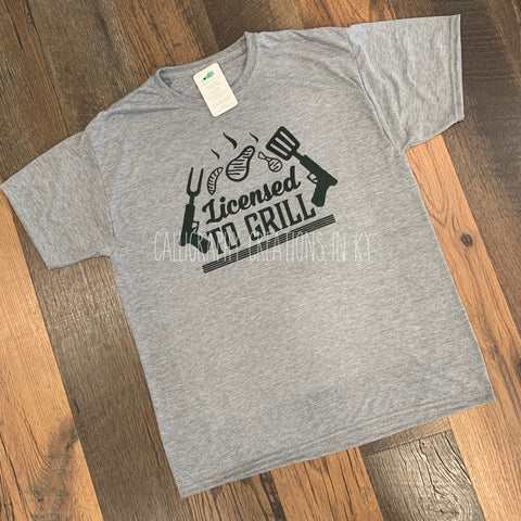 Licensed To Grill Tee