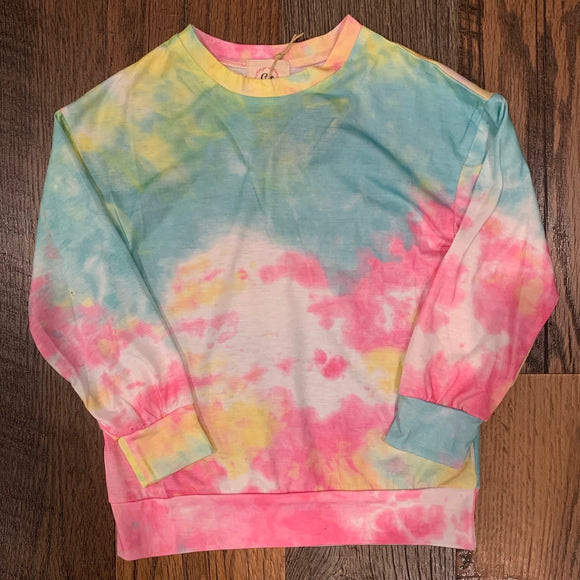 The Favorite Tie Dye Long Sleeve - Rainbow YOUTH