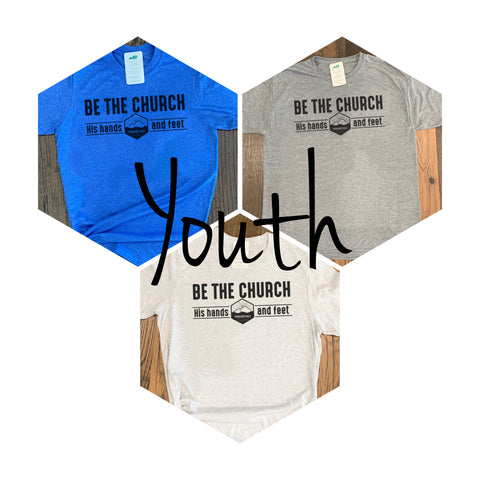 Highland Hills Be The Church Short Sleeve Tee (Color Options) YOUTH