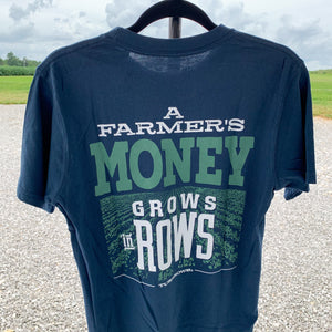 Money Grows In Rows Turnrows T-Shirt