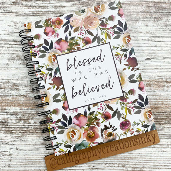 Blessed Is She Notebook