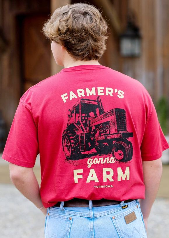 Farmer's Gonna Farm Turnrows T-Shirt (Men's)