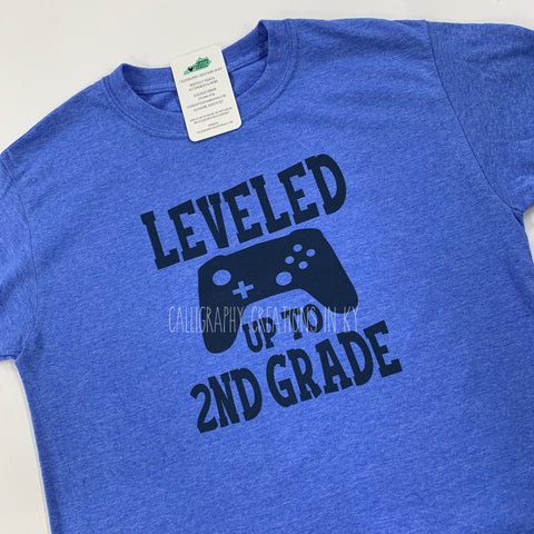 Leveled Up To 2nd Grade Tee (Youth)