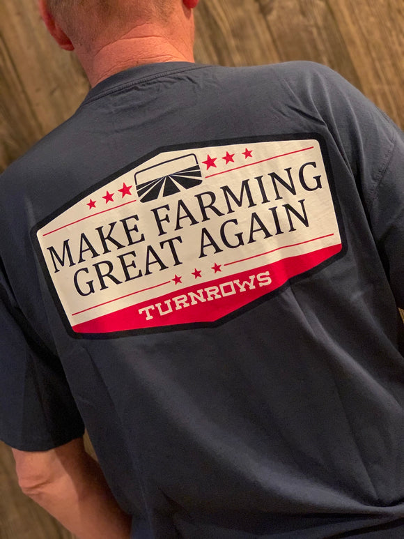 Make Farming Great Again Turnrows T-Shirt (Men's)