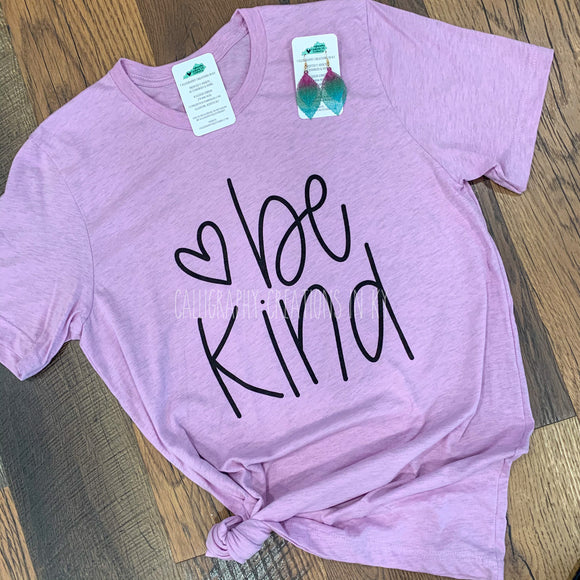 Hand-Lettered Be Kind Tee