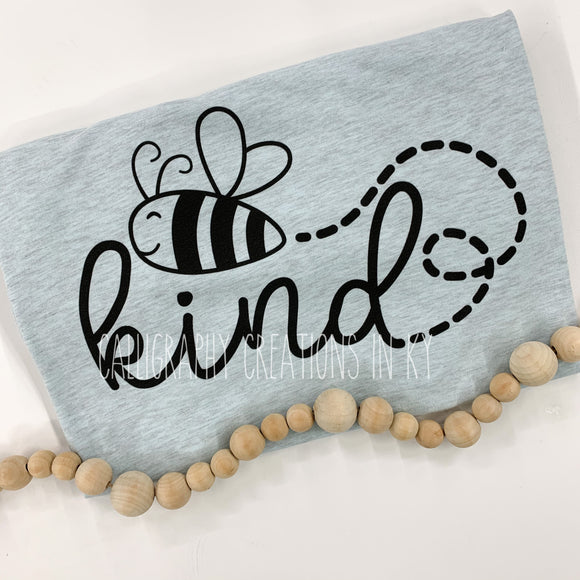 Ice Blue Be Kind Tee