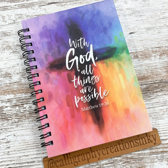 All Things Possible Notebook