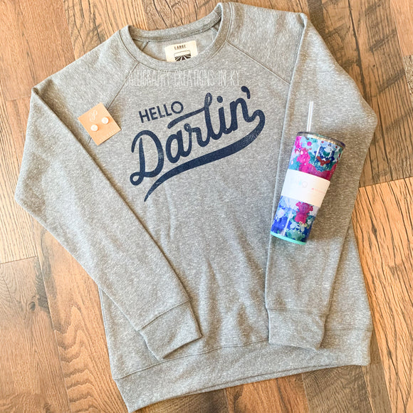 Hello Darlin' Turnrows Brand Sweatshirt