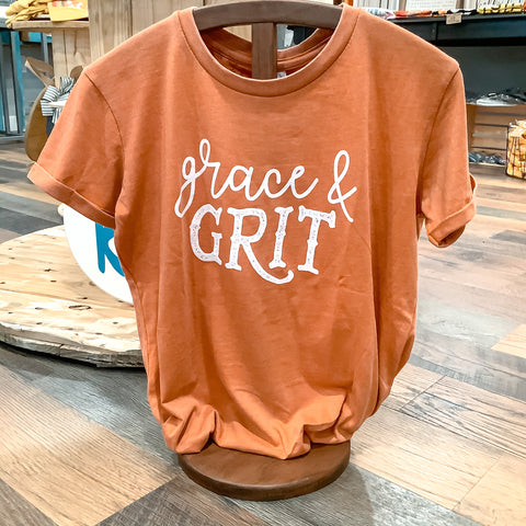 Grace & Grit Turnrows Brand Shirt