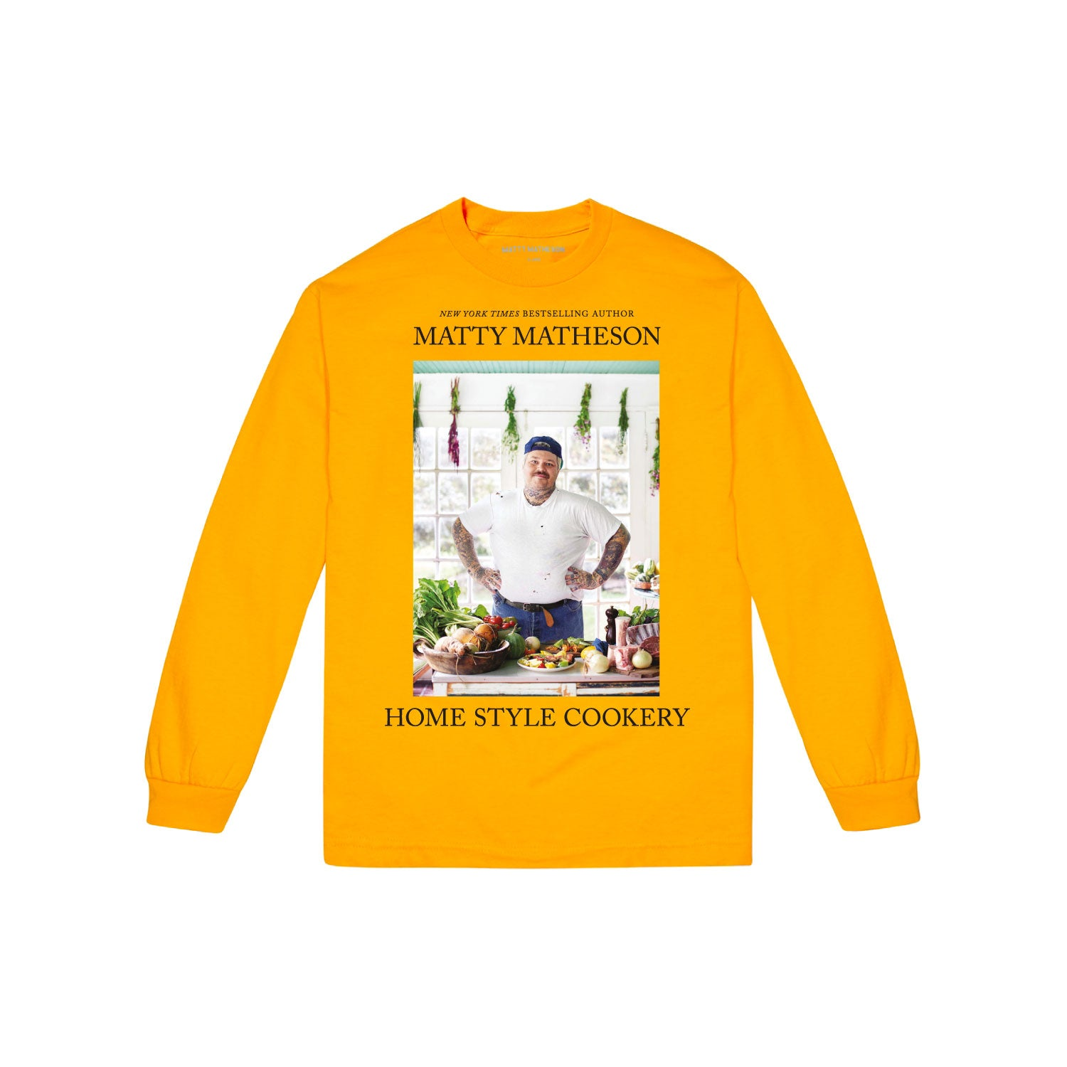 Home Style Cookery Long Sleeve Tee