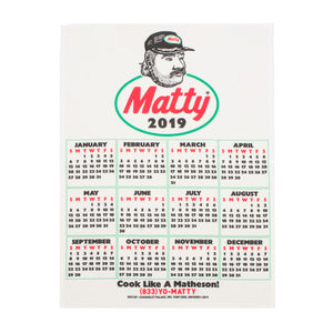 BIG RIG TEA TOWEL CALENDAR