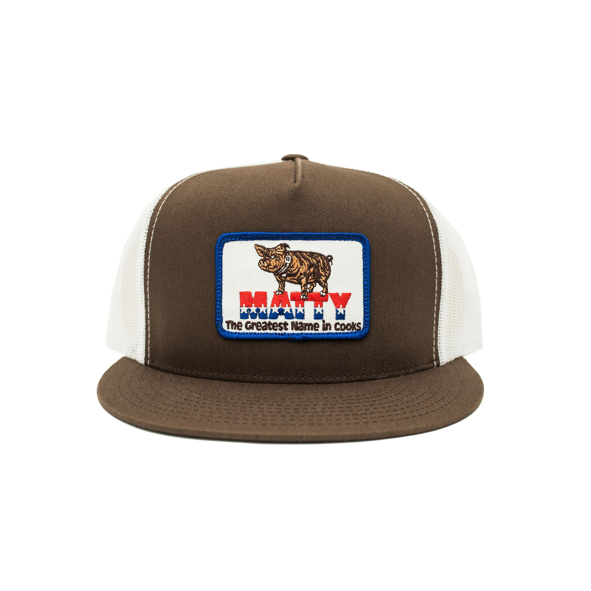 MATTY STARS TRUCKER (BROWN)