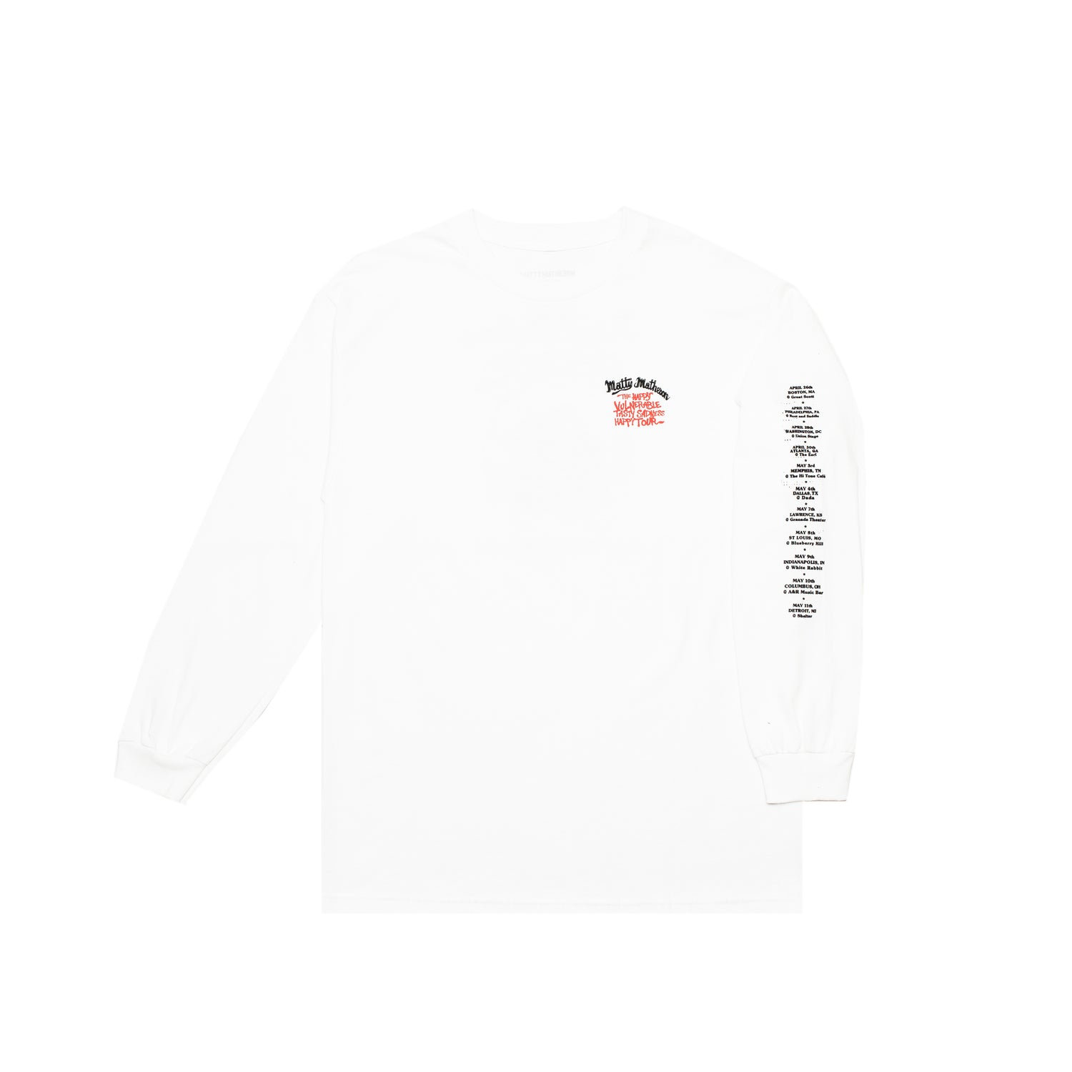 MATTY US TOUR L/S TEE