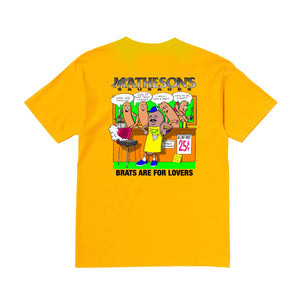 Hot Brats Gold T-shirt