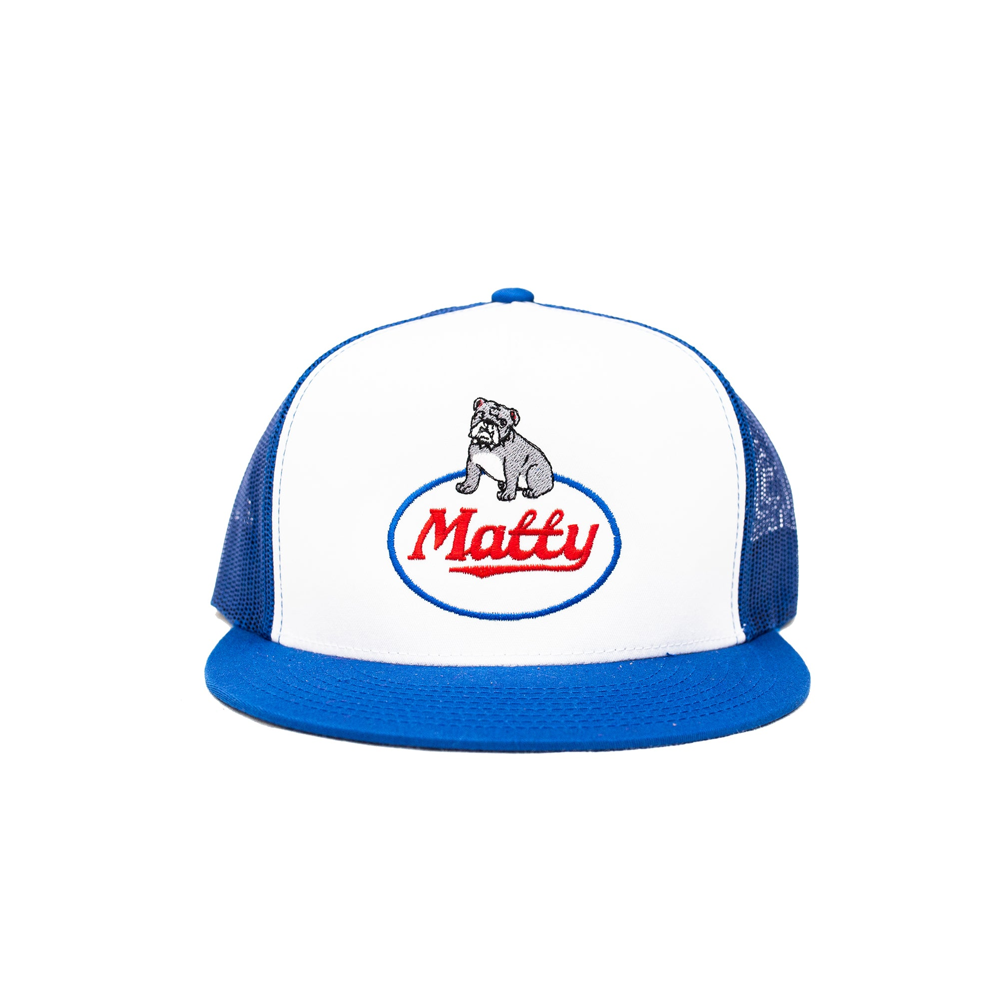 BIG DOG TRUCKER HAT (BLUE)