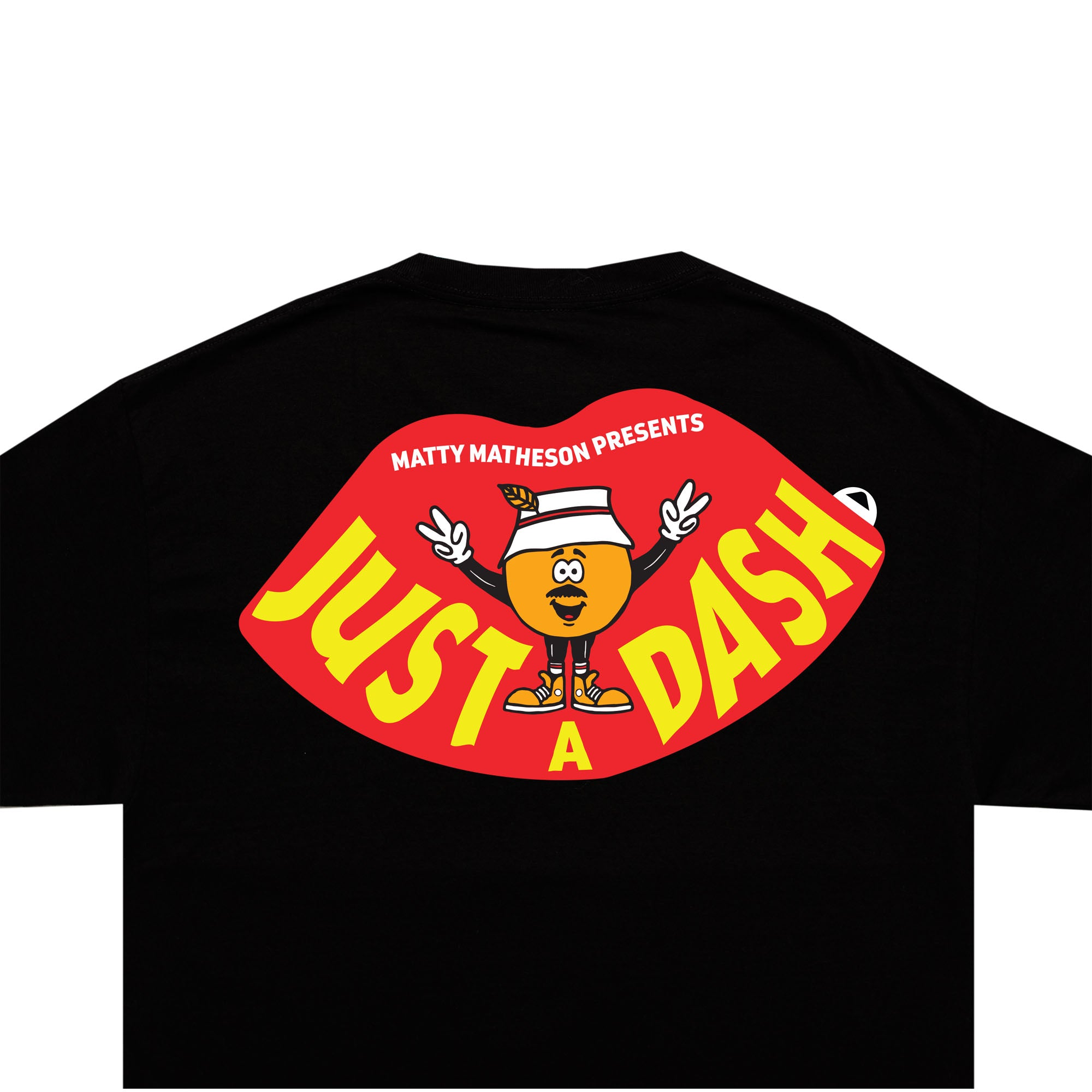 JUST A DASH TEE (BLACK)