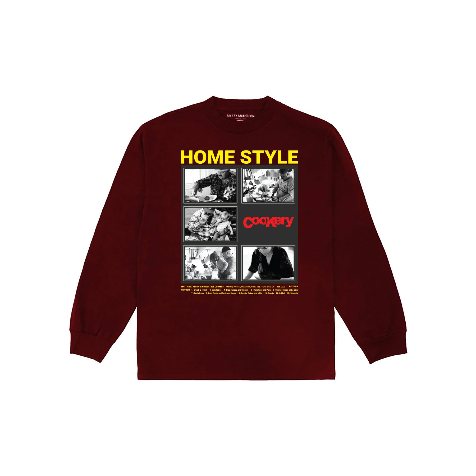 HSC Movie Poster Long Sleeve Tee