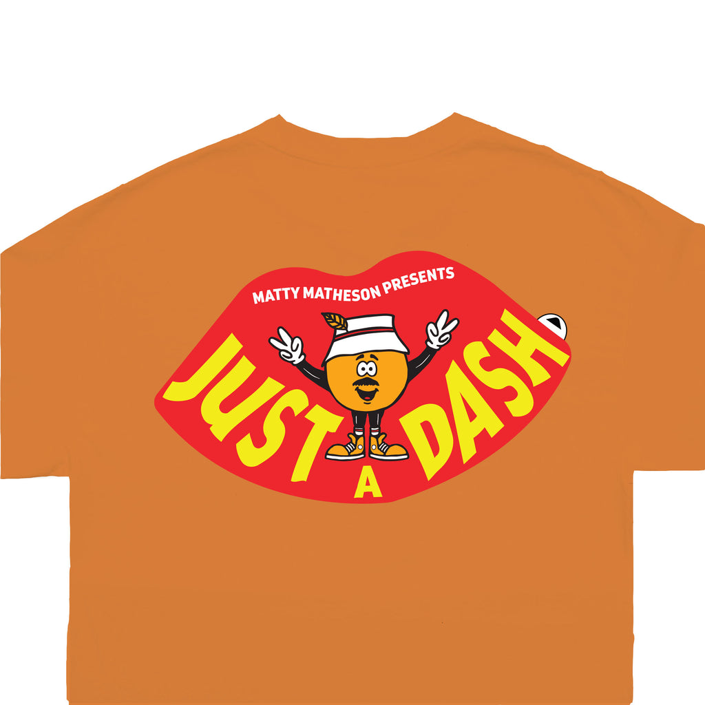 JUST A DASH TEE (ORANGE)