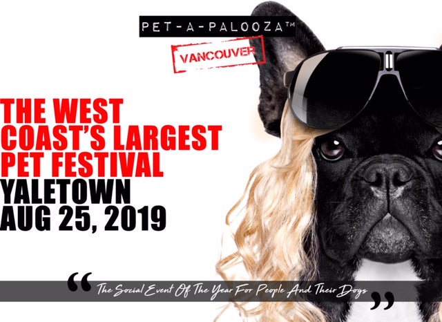 PET-A-PALOOZA 2019 - THIS SUNDAY AUGUST 25TH